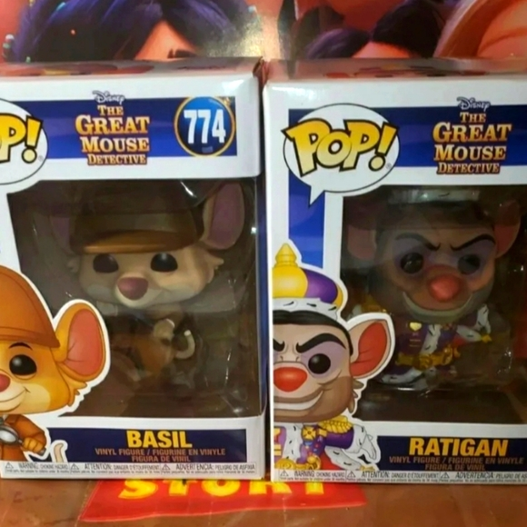 FUNKO POP THE GREAT MOUSE DETECTIVE